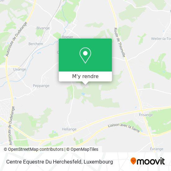 Centre Equestre Du Herchesfeld plan