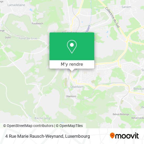4 Rue Marie Rausch-Weynand plan