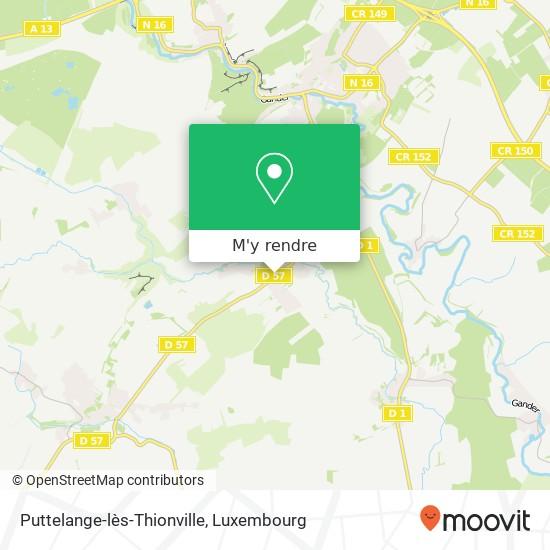Puttelange-lès-Thionville plan