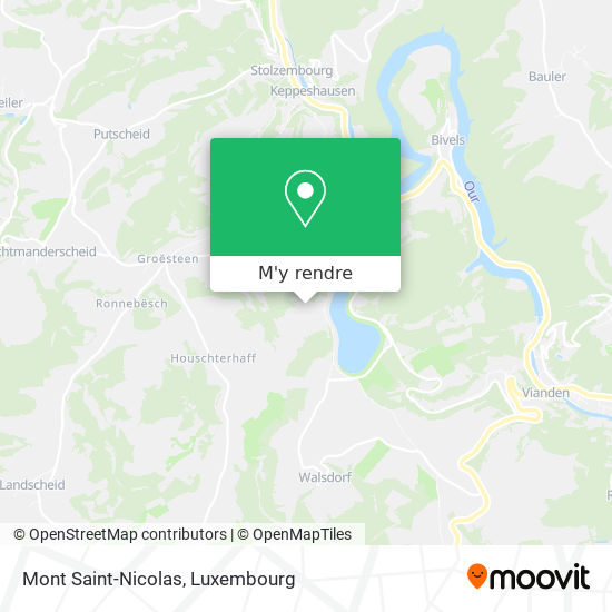 Mont Saint-Nicolas plan