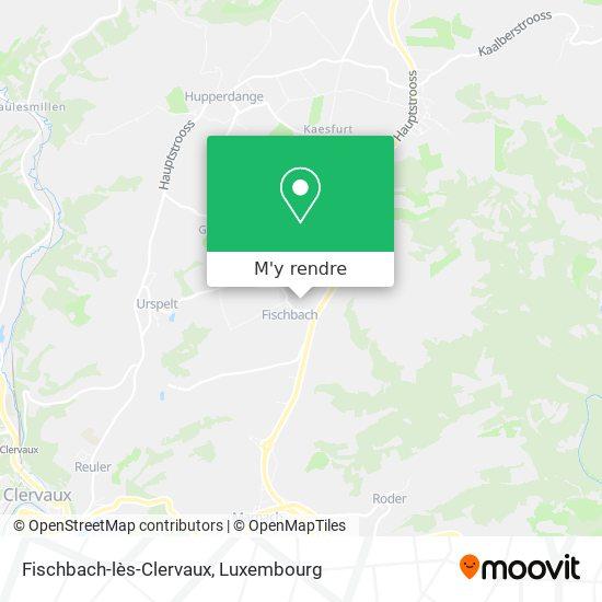 Fischbach-lès-Clervaux plan