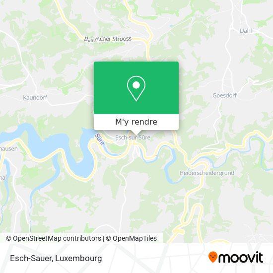 Esch-Sauer plan