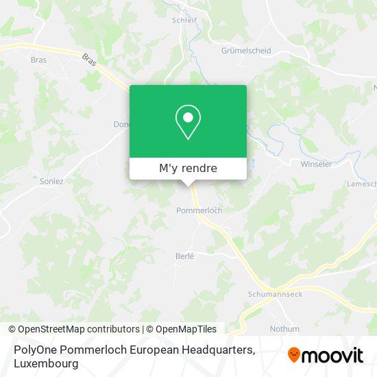 PolyOne Pommerloch European Headquarters plan