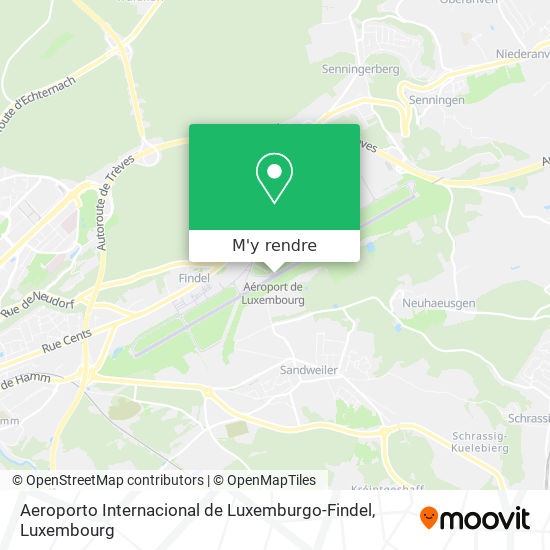 Aeroporto Internacional de Luxemburgo-Findel plan
