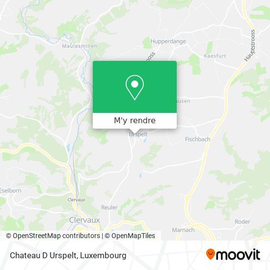Chateau D Urspelt plan