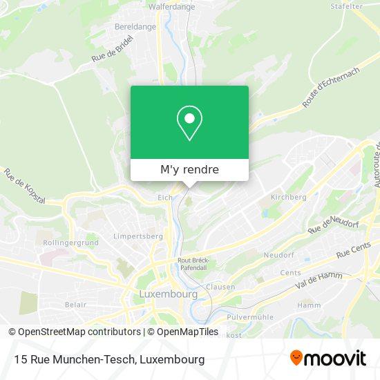 15 Rue Munchen-Tesch plan