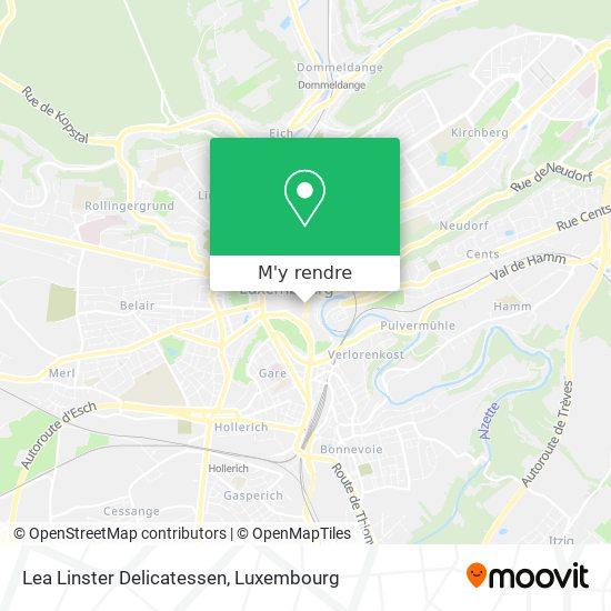 Lea Linster Delicatessen plan