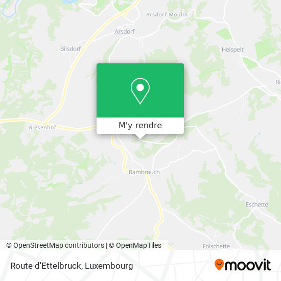 Route d'Ettelbruck plan