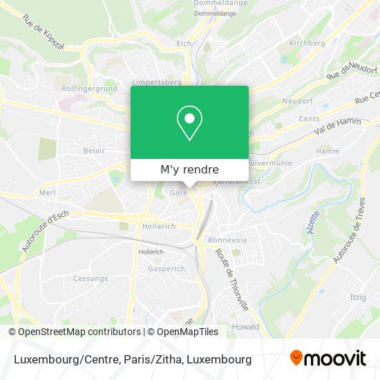 Luxembourg/Centre, Paris/Zitha plan