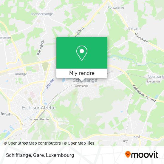 Schifflange, Gare plan