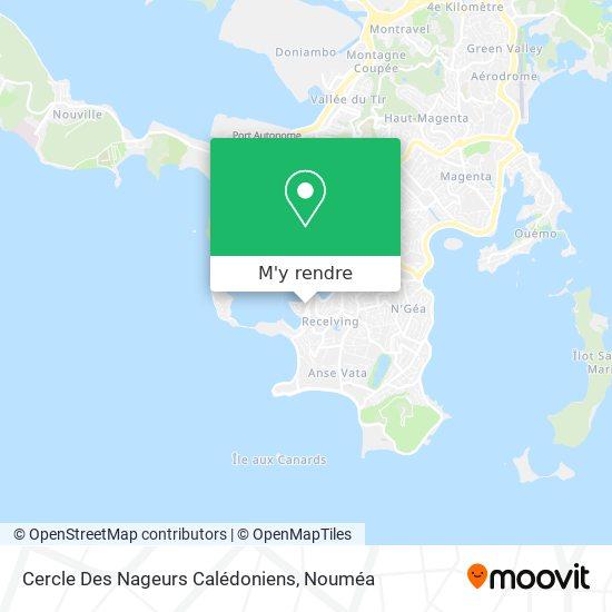 Piscine Du Cnc / Port Plaisance plan