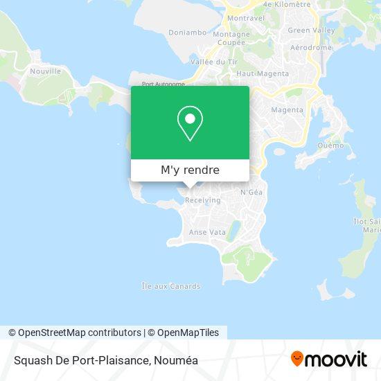 Squash De Port-Plaisance plan