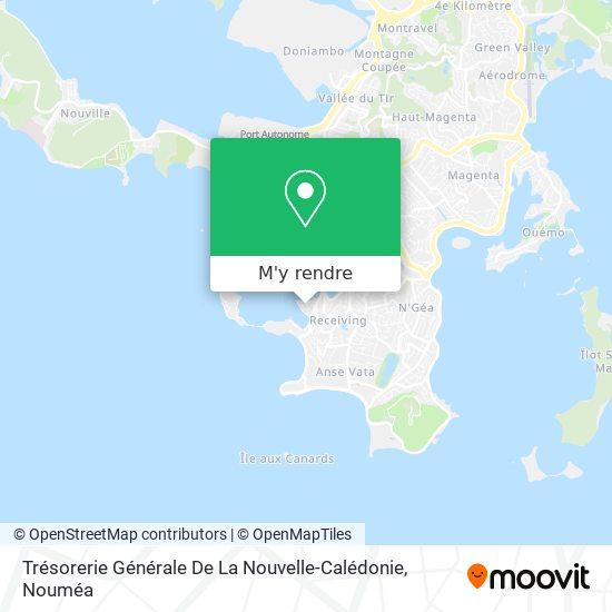 Trésorerie Générale De La Nouvelle-Calédonie plan