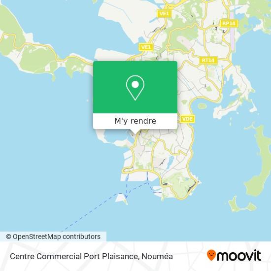 Centre Commercial Port Plaisance plan