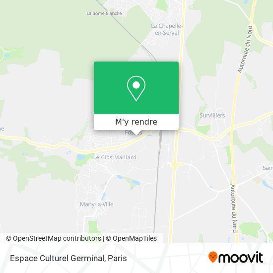 Espace Culturel Germinal plan