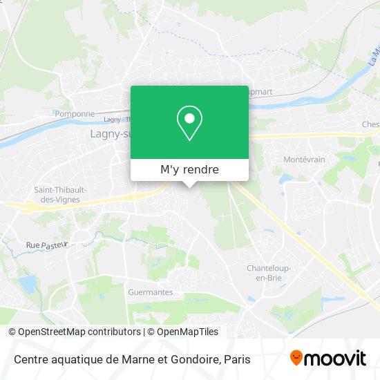 Centre aquatique de Marne et Gondoire plan