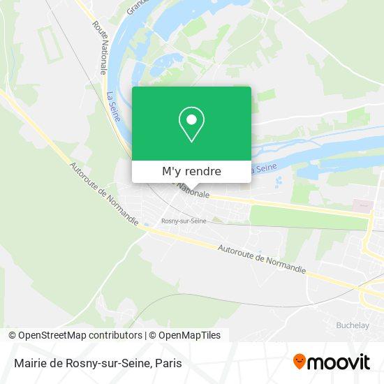 Mairie de Rosny-sur-Seine plan