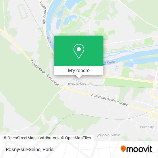 Rosny-sur-Seine plan