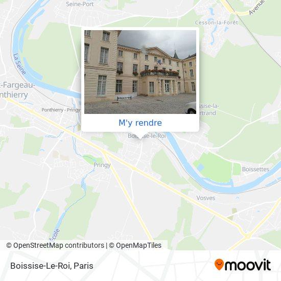 Boissise-Le-Roi plan
