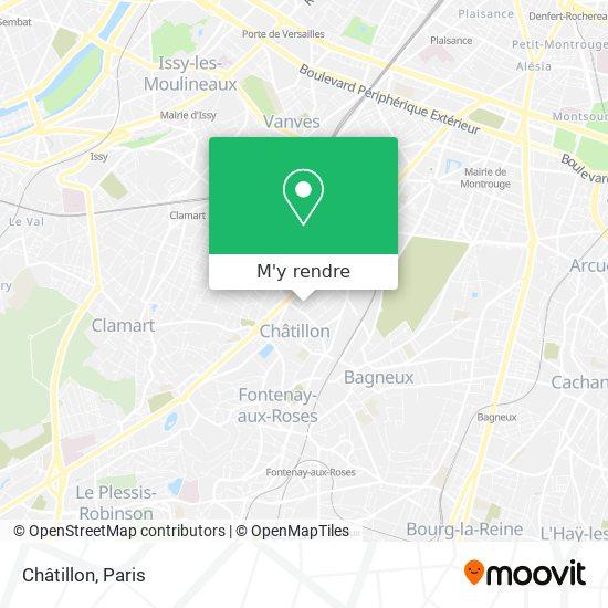 Châtillon plan