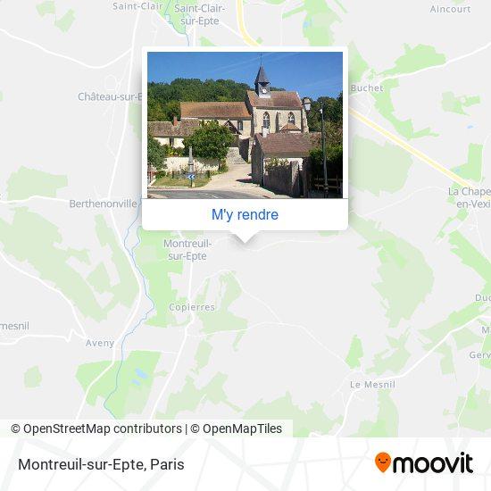 Montreuil-sur-Epte plan
