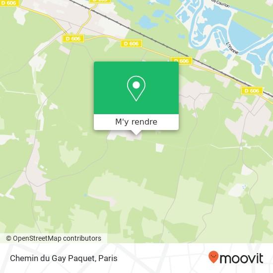 Chemin du Gay Paquet plan