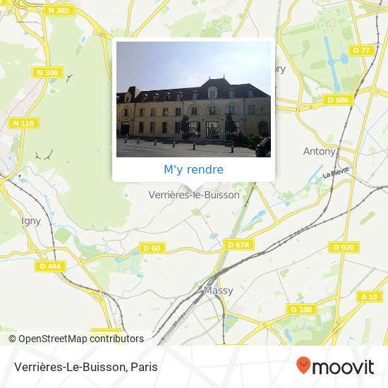 Verrières-Le-Buisson plan
