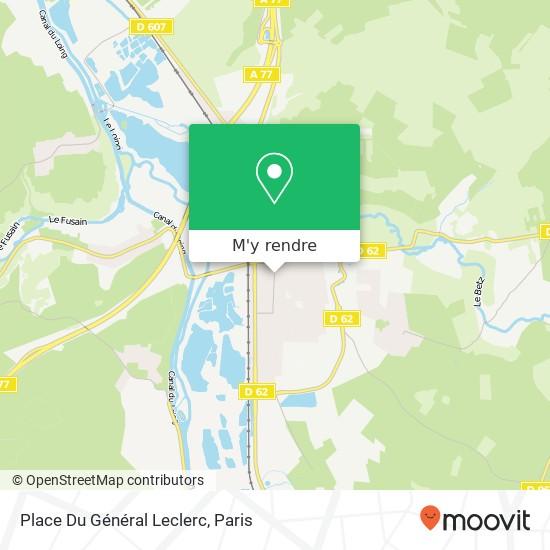 Place Du Général Leclerc plan