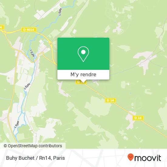 Buhy Buchet / Rn14 plan