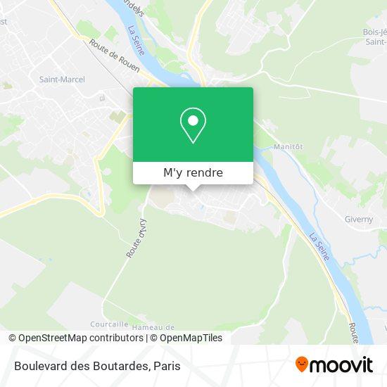 Boulevard des Boutardes plan