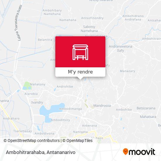 Ambohitrarahaba plan