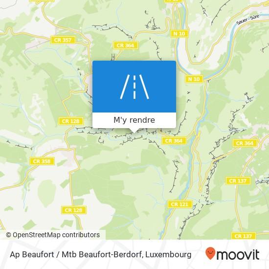 Ap Beaufort / Mtb Beaufort-Berdorf plan