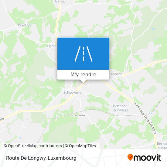 Route De Longwy plan