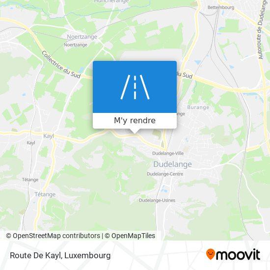Route De Kayl plan