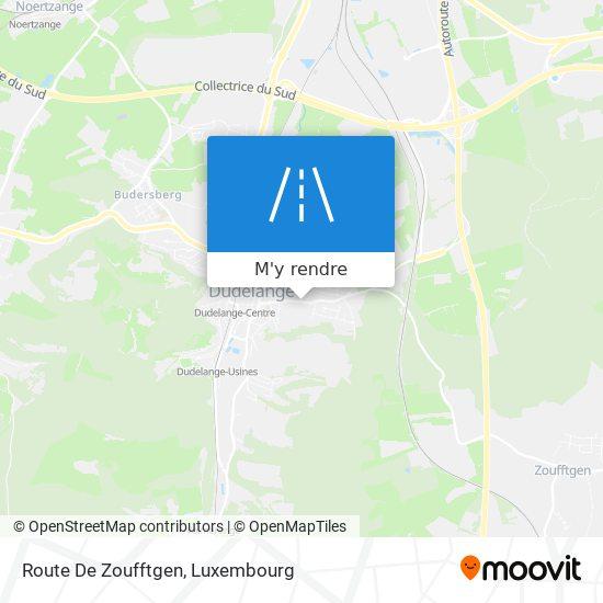 Route De Zoufftgen plan