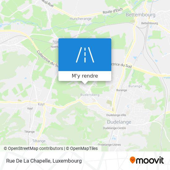 Rue De La Chapelle plan