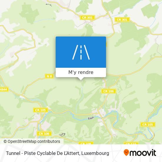 Tunnel - Piste Cyclable De L'Attert plan