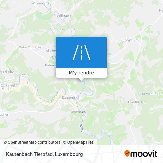Kautenbach Tierpfad plan