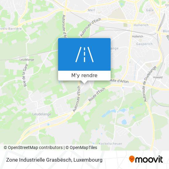 Zone Industrielle Grasbësch plan