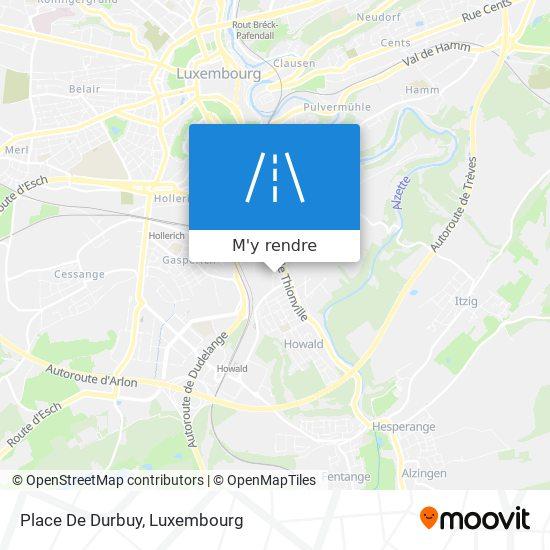 Place De Durbuy plan