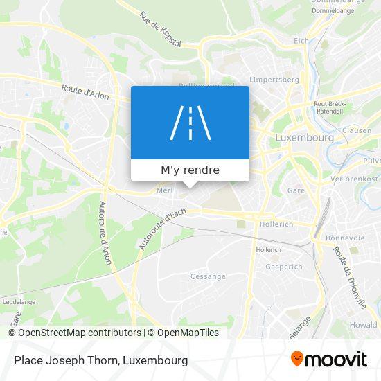 Place Joseph Thorn plan