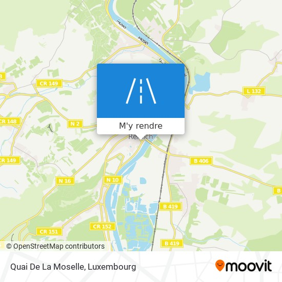 Quai De La Moselle plan
