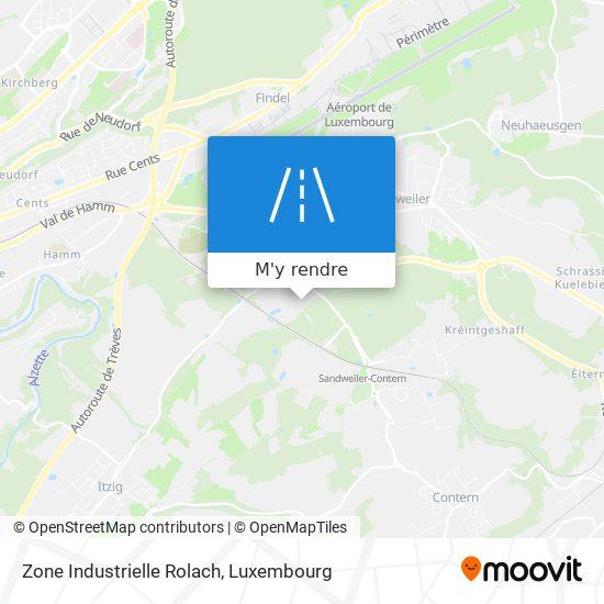 Zone Industrielle Rolach plan