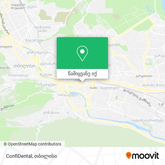 ConfiDental რუკა