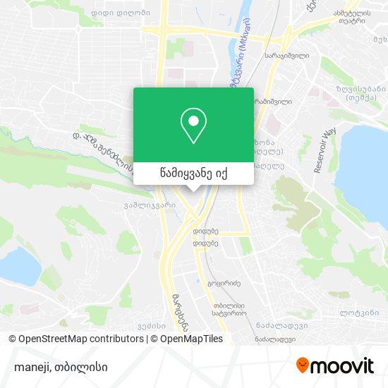 maneji რუკა