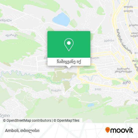 Amboli რუკა