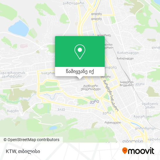 KTW რუკა