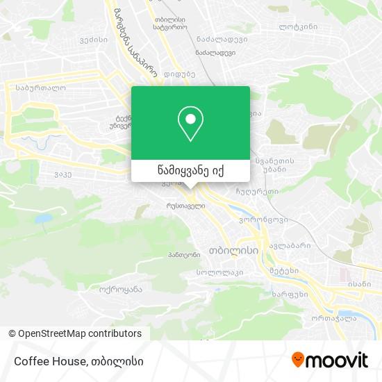 Coffee House რუკა