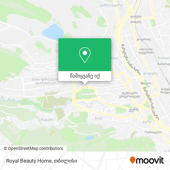 Royal Beauty Home რუკა