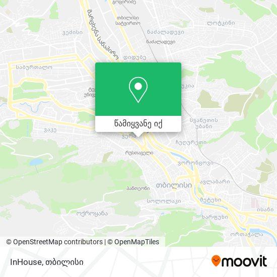 InHouse რუკა